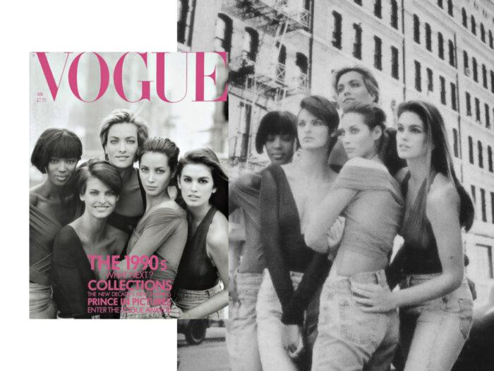 Peter Lindbergh Vogue UK 1990