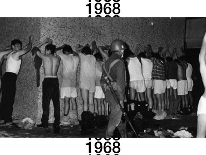 Militares en Tlatelolco 68