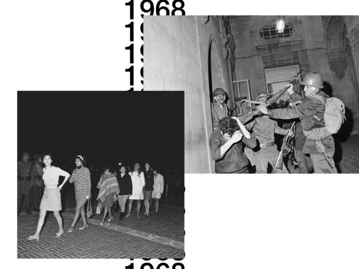 Estudiantes detenidos y violentados 1968
