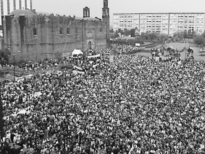 Plaza de las Tres Culturas 1968