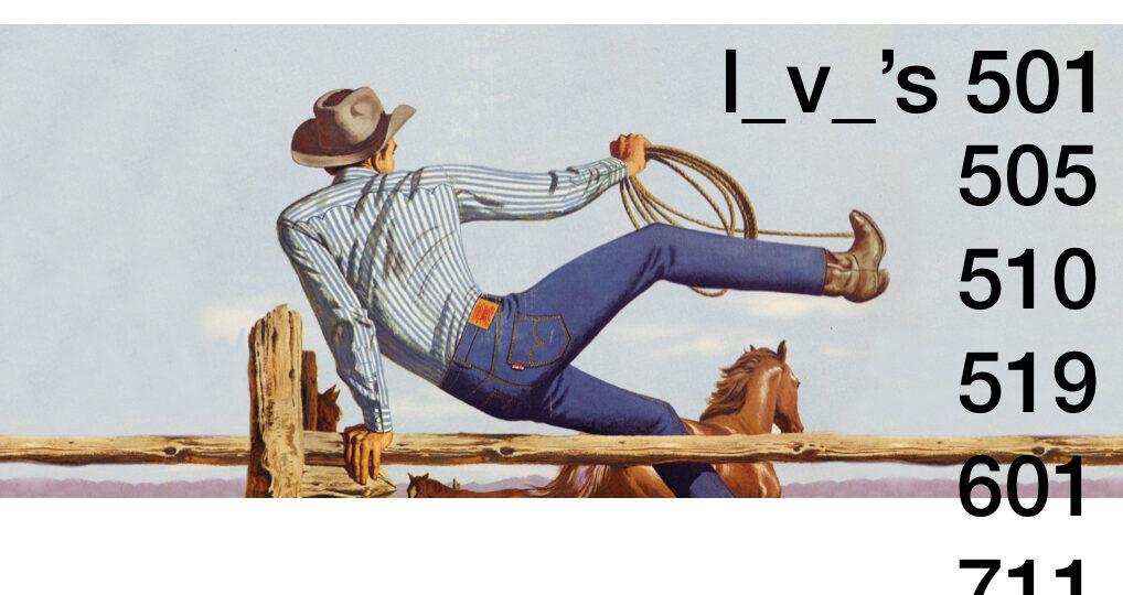 Por qué los Levi's tienen números