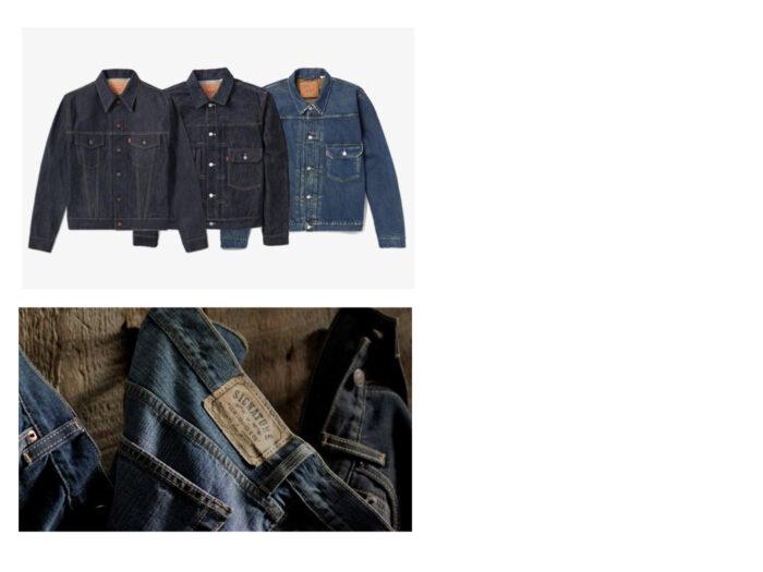 Por qué los Levi's tienen números trucker jackets