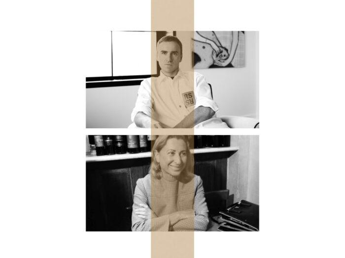Raf Simons y Miuccia Prada