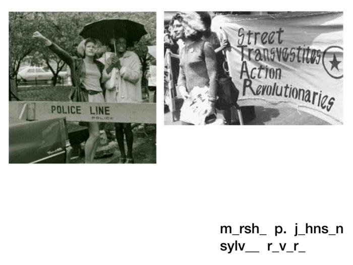 Marsha P. Johnson y Sylvia Rivera Stonewall