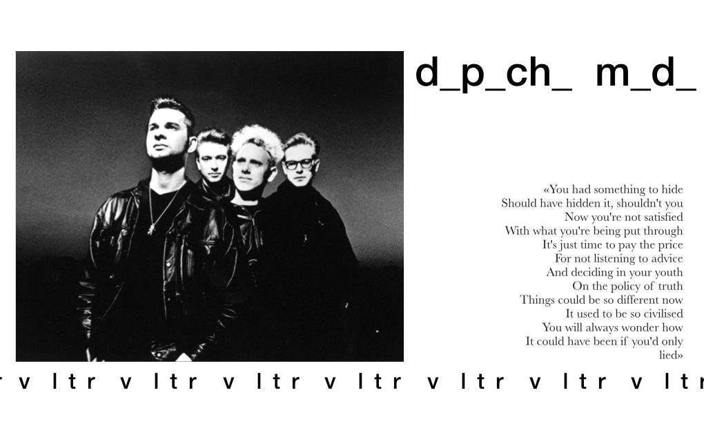 Depeche Mode Violator