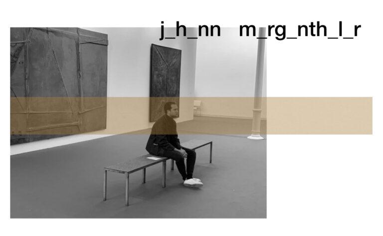 Johann Mergenthaler Fashion Week México 2020
