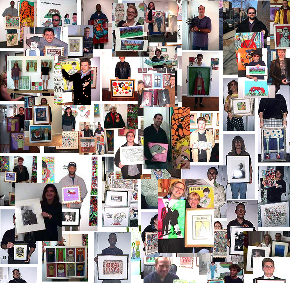 david leonardis galleries happy art buyer collage