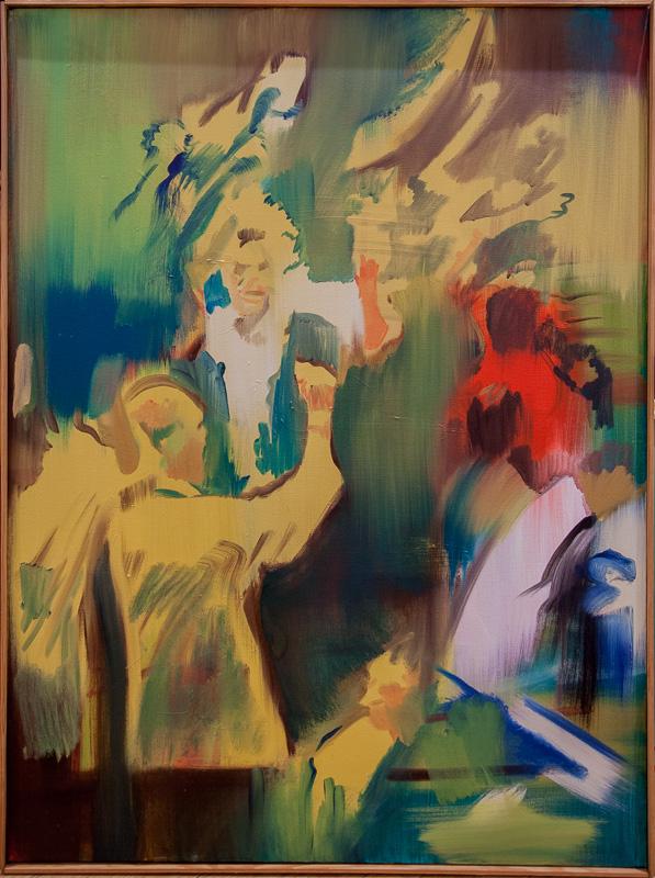 """Original Peter Hurley art - Board of Trade #6 Series 48""""x36"""""""