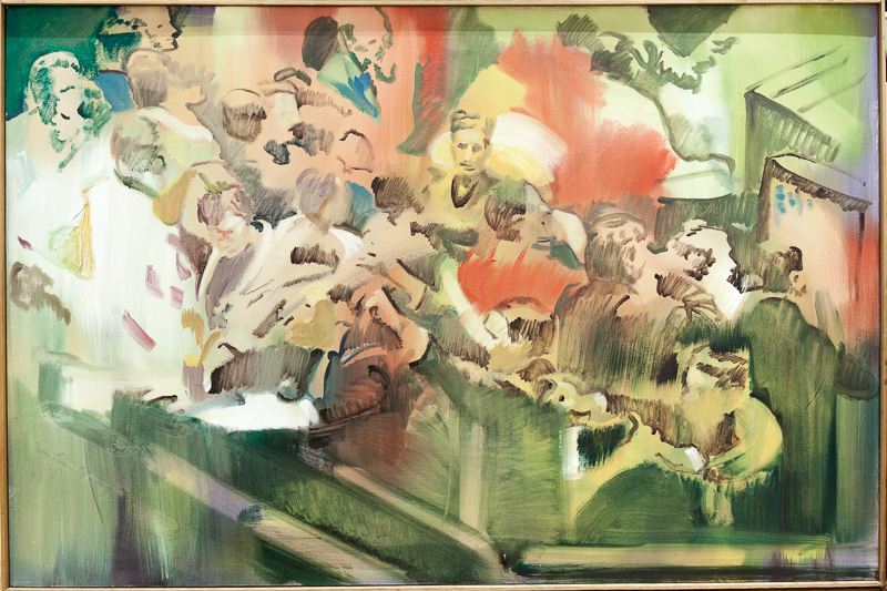 Original Peter Hurley art - Board of Trade #5 Series