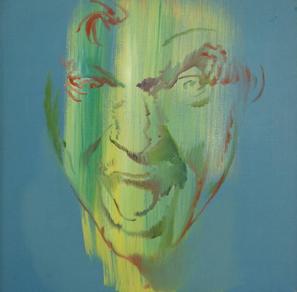 "Original Peter Hurley art - Board of Trade Board of Trade #3 Series 25""x25"" $600#1 Series 25""x25"" $600"
