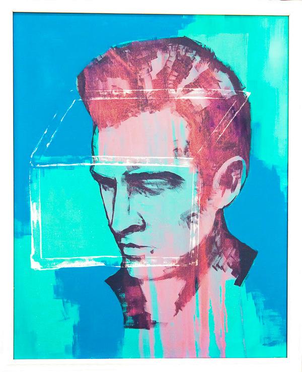 "Matt Geer - The Last Elvis Shrine 32""x26"""