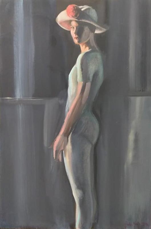 "Original Peter Hurley art - Ballerina Series #21 36""x30"" $1000"