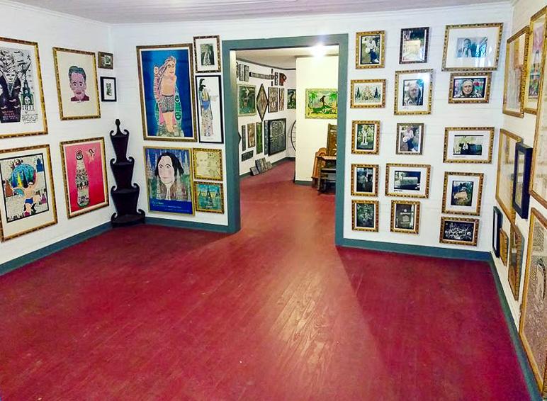 howard finster vision house museum with howard finster original art inside