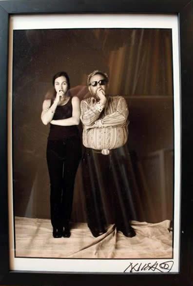 Marc Hauser Actress & Marc Hauser Silver Gelatin Fiber Print