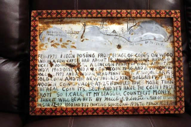 howard finster original art work Legal Counterfeit Money