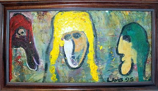 matt lamb painting untitled