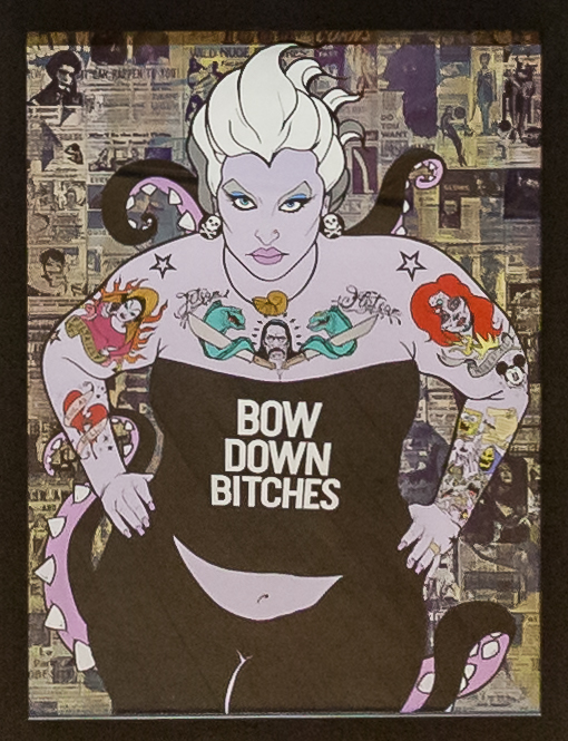 Donald Topp Cartoon Tattoo Hipster Girls - Ursula