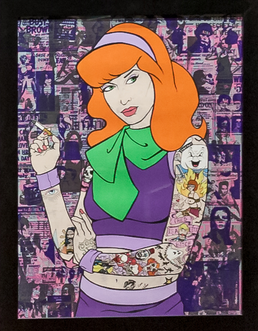 Donald Topp Cartoon Tattoo Hipster Girls - Daphne