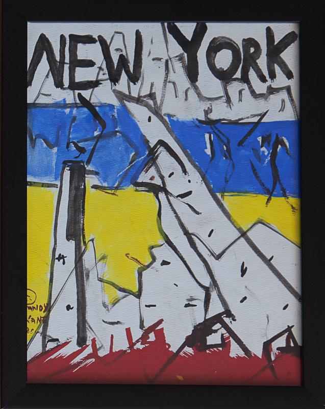 "New York #2 13""x10"""