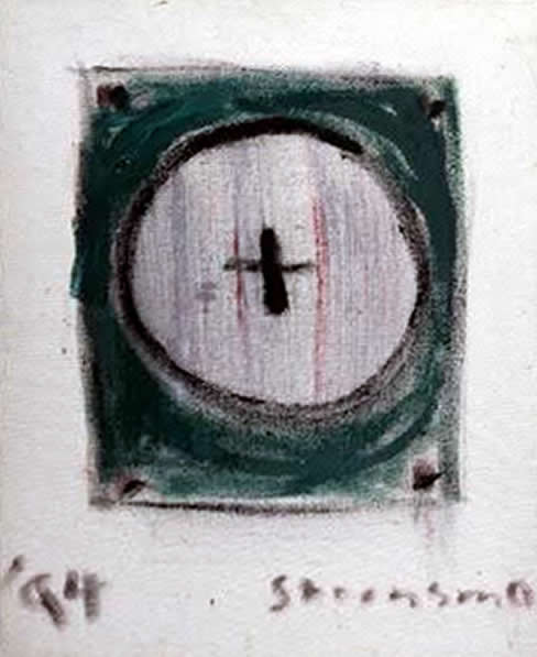 "Jay Steensma Original Art - Chalice 16""x12"" Oil on Linen Framed $1000"