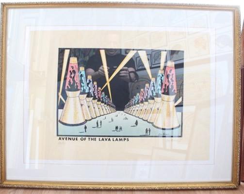 Original Ken Brown Screen Print