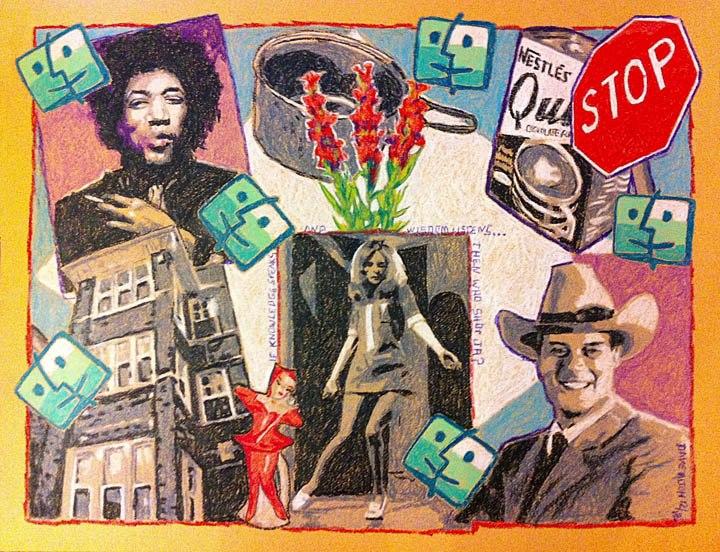Dave Alton crayola crayon series