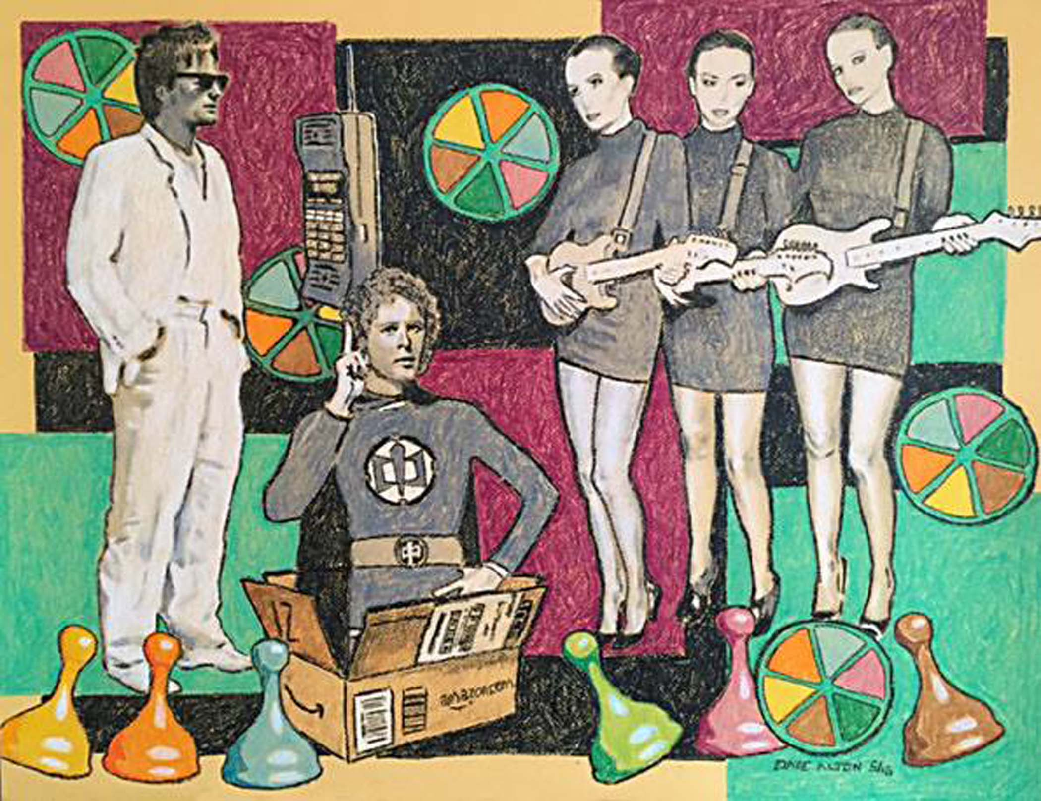 Dave Alton crayola crayon series irresistible pursuit