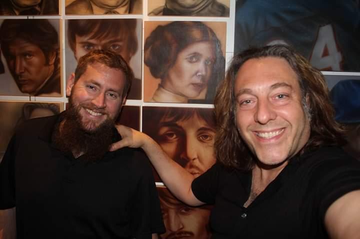 ben laskov and david leonardis selfie