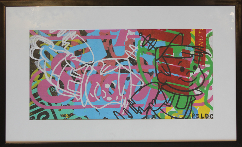 Original Chris Peldo Art - Elroy Jetson