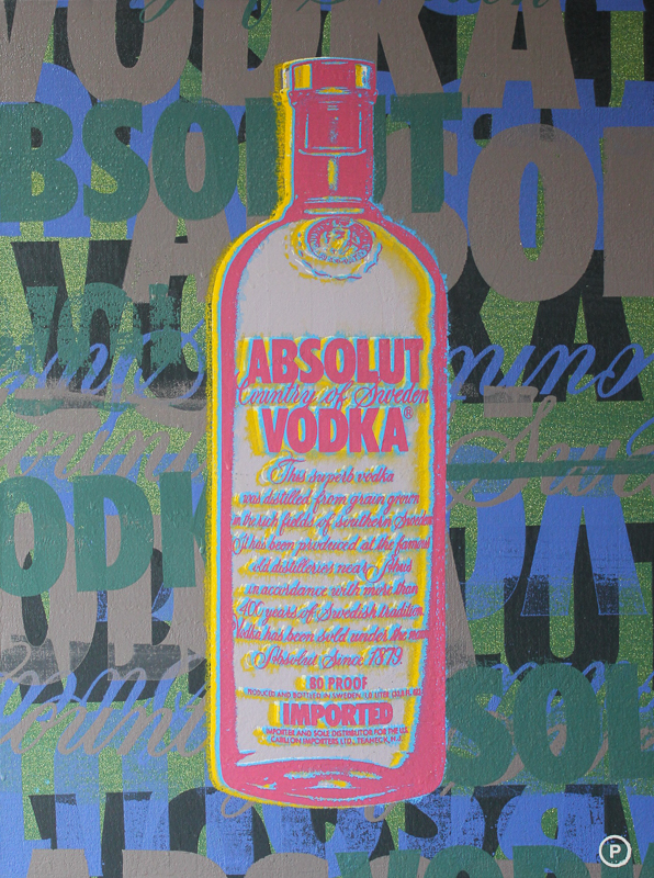 Original Chris Peldo Art - Absolut