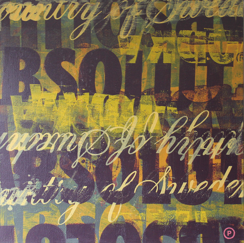 Original Chris Peldo Art - Absolut