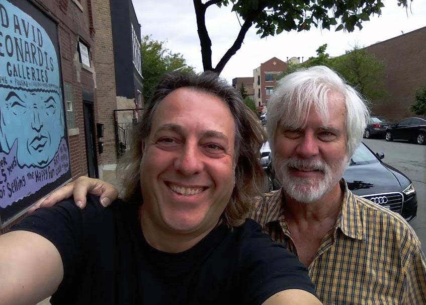 David and Peter Hurley Selfie