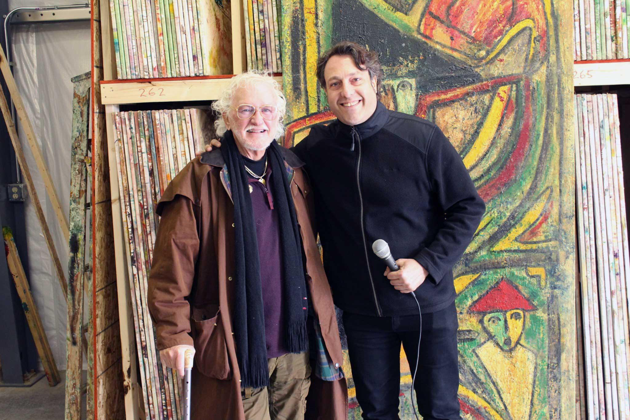 Matt Lamb and David Leonardis
