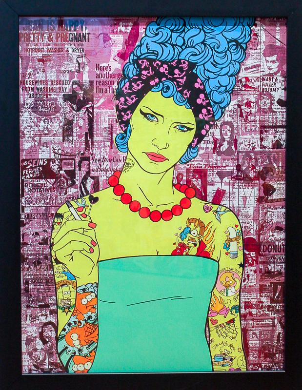 marge simpson matt groening donald top cartoon tattoo hipster gilrs series