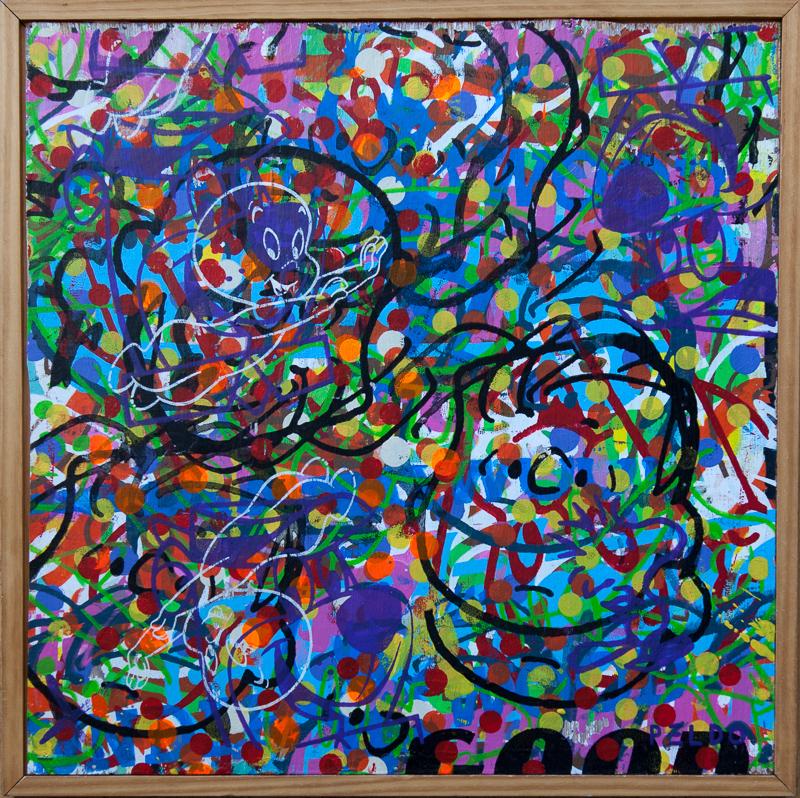 Original Chris Peldo Art Linus 2