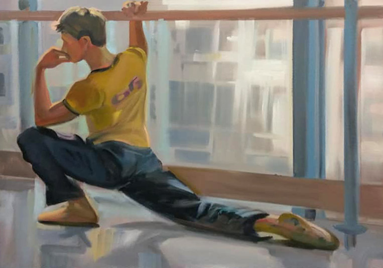 Ballerina Series #25 by Peter Hurley