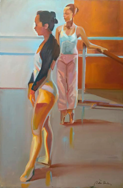 Ballerina Series #38 Peter Hurley