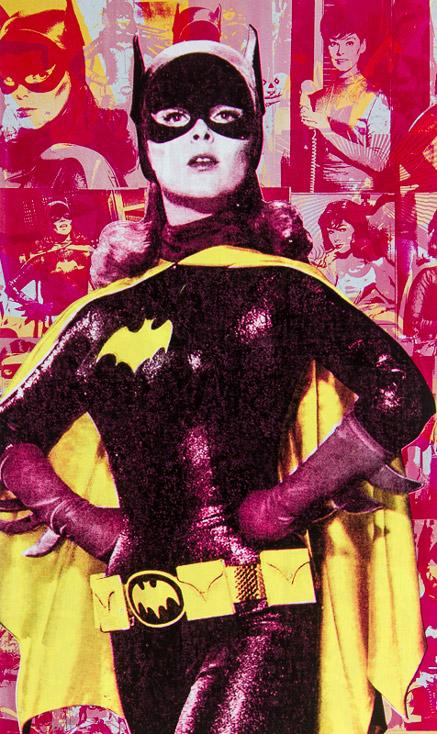 Batgirl Donald Topp icon print