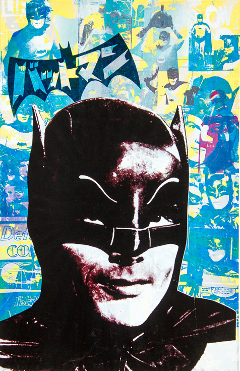 Batman Donald Topp icon print