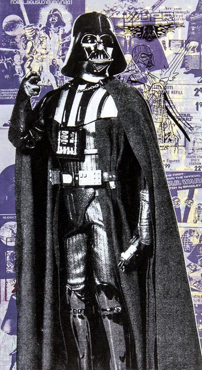 Darth Vader Donald Topp icon print