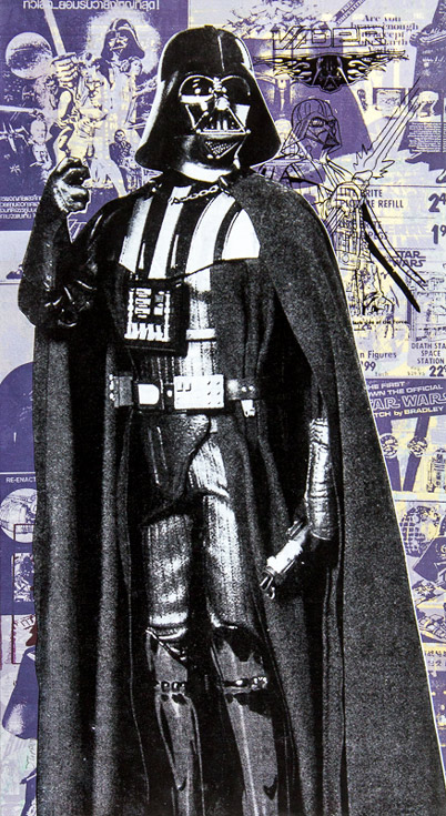 Darth Vader Donald Topp icon print