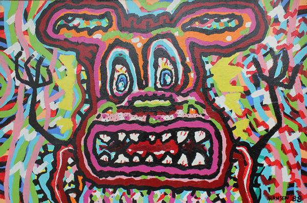 Terror Dogs by George Hansen