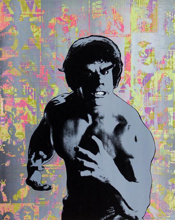 Hulk Lou Ferrigno Donald Topp icon print