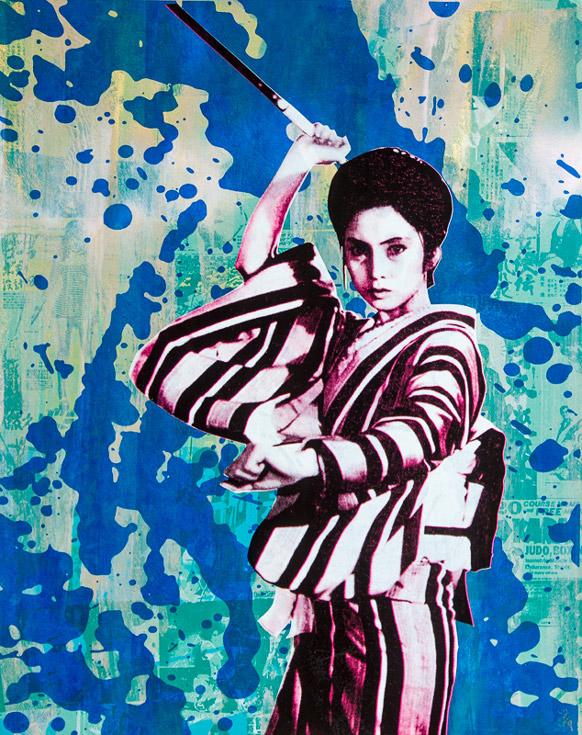 Lady Snowblood Donald Topp icon print