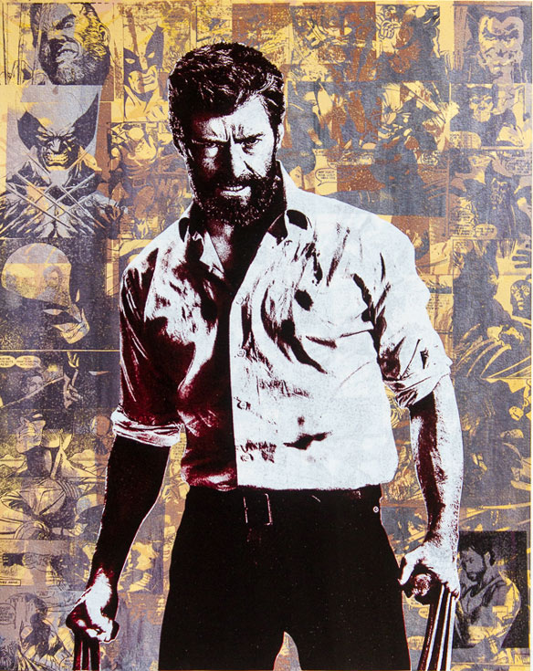 Logan Wolverine Donald Topp icon print