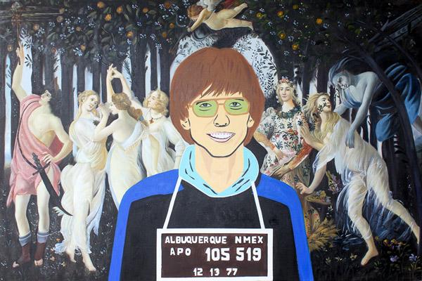 Bill Gates & Botticelli's Primavera by Maximilian