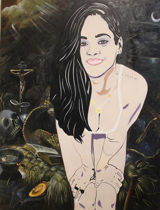 Rihanna & Tintoretto's The Penitent Magdalene by Maximilian