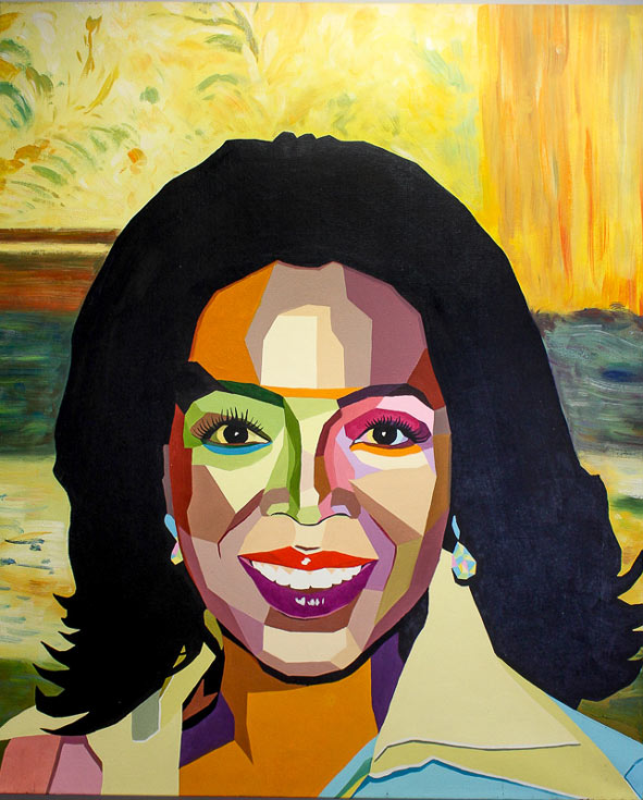 Oprah Winfrey by Maximilian