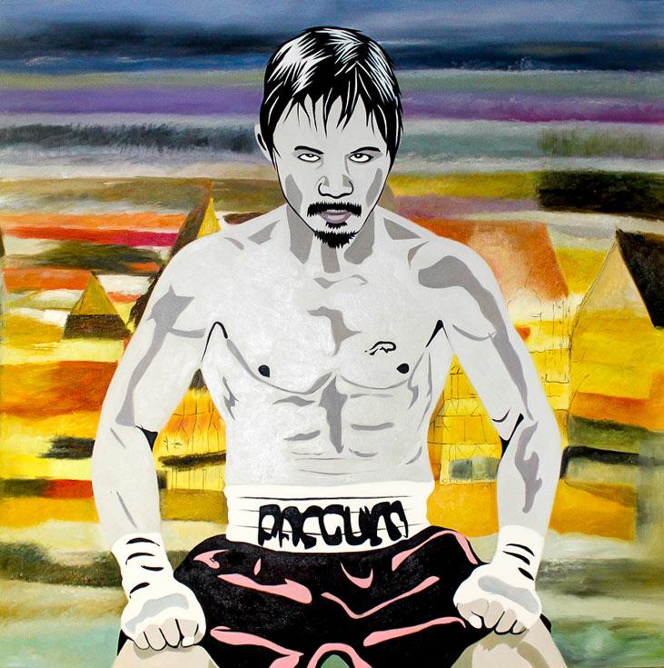 Manny Pacquiao by Maximilian