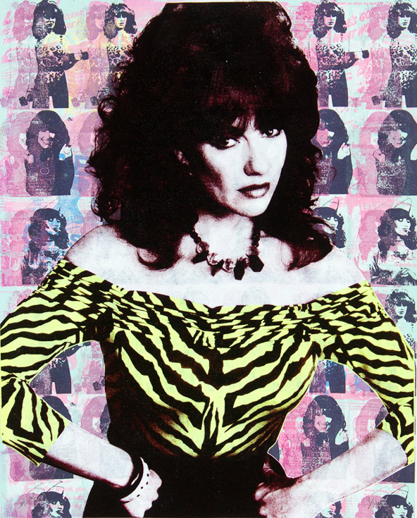 Peggy Bundy Donald Topp icon print